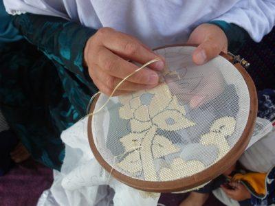 تصاویری از هنر گاچدوزی