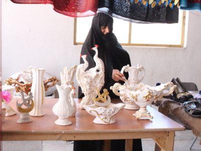 گوشهای از فعالیتهای اقتصادی زنان هرات