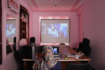 گوشهای از یک سال فعالیت خبرگزاری بانوان افغانستان در بستۀ ویدیویی