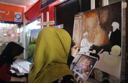 زنان نقاش مناظر طبیعی را برای آرامش روان شان به تصویر میکشند