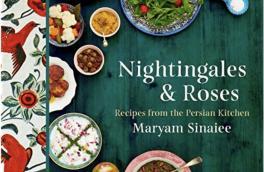 آشپزی با نغمهی بلبلها، سرخی گلها و طعم زعفران