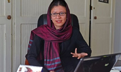 شهرزاد اکبر رییس کمیسیون مستقل حقوق بشر شد