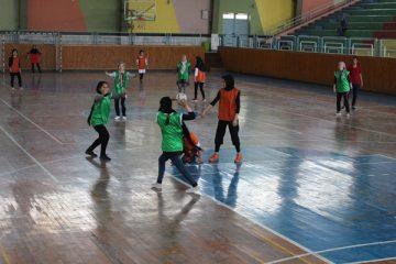 ششمین دور مسابقات دوستانۀ هندبال بانوان در هرات
