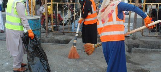 برنامهی حشر عمومی پاککاری در هرات برگزار شد