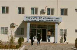 ۴۰ درصد از دانشجویان دانشکدۀ ژورنالیزم دانشگاه هرات دختراناند