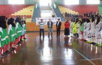 دختران تیم منتخب فوتسال هرات، در مسابقات لیگ برتر افغانستان شرکت میکنند