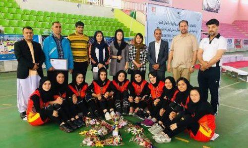نایب قهرمانی دختران والیبالر هرات در رقابتهای گزینش تیم ملی