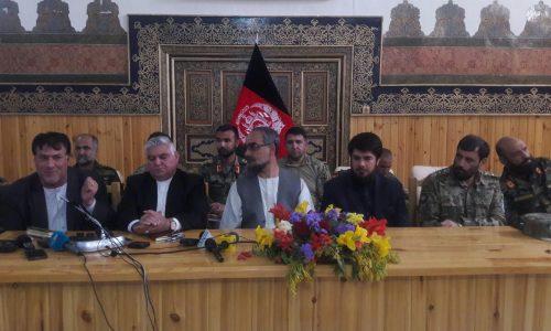 نخستین نشست والیان و مسوولان امنیتی حوزۀ غرب در هرات برگزار شد
