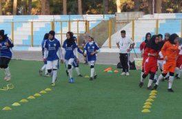 نایب قهرمانی دختران تیم منتخب فوتبال هرات در رقابتهای لیگ برتر