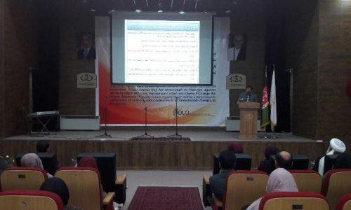 برگزاری کنفرانس ارائه فعالیتهای دادستانی منع خشونت علیه زنان در هرات