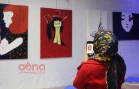 نمایشگاه نقاشی به مناسبت ۲۵ نوامبر