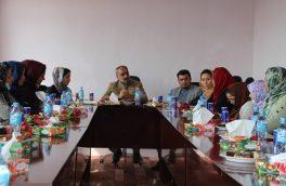از هشت مارچ در ادارۀ امور زنان هرات تجلیل شد