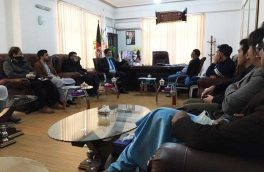 دیدار مجمع عمومی مبارزه با کرونا با  رئیس شرکت برشنا