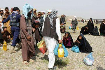 توزیع بستههای کمکی برای بیجاشدهگان داخلی در هرات