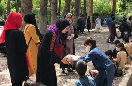 توزیع بستههای افطاری برای صد کودک کار در هرات