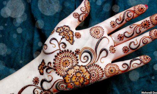 حنا کردن سنتی در بین دختران افغانستانی