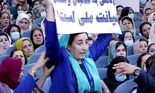 واکنش فعالان مدنی به لت و کوب شدن بلقیس روشن در تالار لویه جرگه