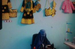 سایه کرونا بر تجارت زنان بادغیس؛ زنان بازرگان خانه نشین شدند
