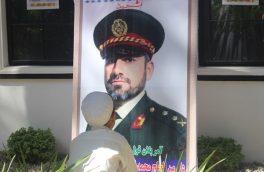 تصاویری از نمایشگاه «قهرمانان» در هرات