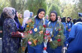 تیم قهرمان فصل چهارم لیگ برتر زنان افغانستان به هرات آمد
