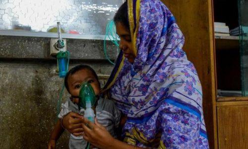 جاندادن نیممیلیون کودک در اثر آلودگی هوا در ۲۰۱۹