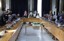 دیدار عبدالله عبدالله با زنان در هرات