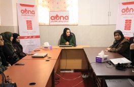 دیدار معاون امور اجتماعی والی هرات از خبرگزاری بانوان افغانستان