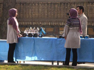 نمایشگاه تکنالوژی دختران رویاپرداز افغان