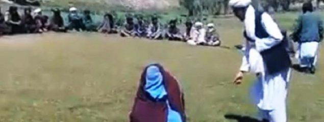 ولسوال اوبه: عایشه یک سال پیش محکمه صحرایی شده بود