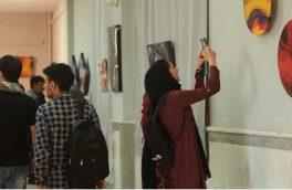 """صلح رنگین تضادها """"نمایشگاه هنر مینیاتوری از سوی یک زن در هرات"""""""