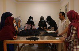 زنان هراتی طراحی لباس میآموزند