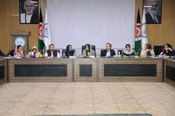 نشست اضطراری برای حل مشکلات زنان بیجا شده