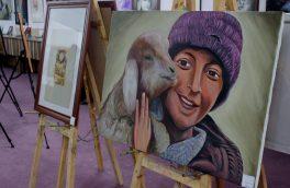 درد و رنج زنان در قالب نمایشگاهی در هرات