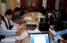 """برگزاری کارگاه آموشی"""" گزارشدهی از پارلمان"""" برای خبرنگاران هرات"""