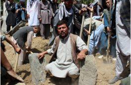 پدری، همسـر و دختـرش را در صحـن مسجد دفـن کرد