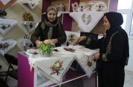 تصاویری از هنر روبان دوزی زنان هزاره