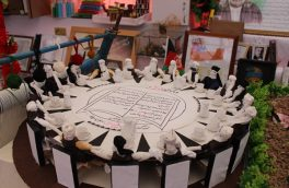 """۴۰۰ اثر دستساز دانشآموزان مکتب، در نمایشگاه """"دانش و هنر"""""""
