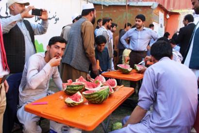 حمایت شهروندان هرات از محصولات کشاورزی داخلی