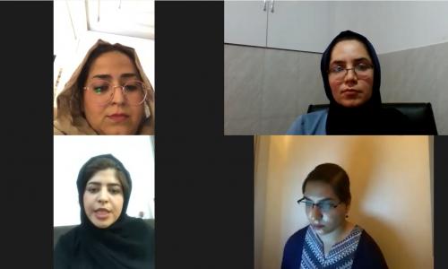 """برگزاری میزگرد آنلاین """"بررسی چالشهای زنان خبرنگار در زمانهی کرونا"""""""