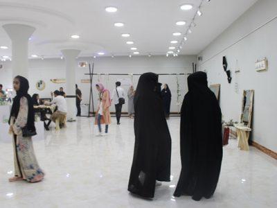 تصاویری از نمایشگاه دختران طراح رُِِزا