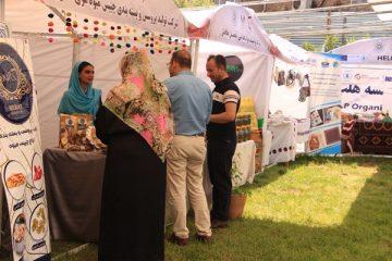 محصولات بازرگانان زن در عیدبازار