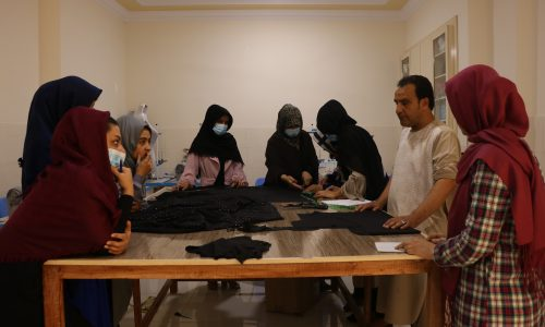 «طراحی، دیزان و خیاطی» کارگاهی جهت افزایش مهارتهای حرفهیی زنان در هرات