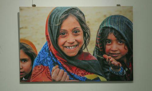 گشایش نمایشگاه «اشک جنگ و لبخند صلح» در هرات