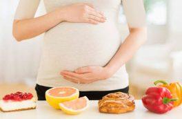 اهمیت تغذیهٔ سالم هنگام بارداری